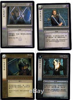 Lot Lord of The Rings LOTR TCG CCG Trading cards Foils Rares Premiums Decipher