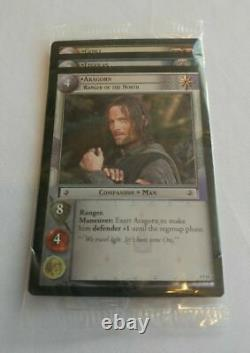 Lot Of 3 Lord Of The Rings Trading Card Game Set Aragorn Legolas Gimli Sealed