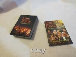 Lot Of 60 Lord Of The Rings Trading Card Game Cards & Rulebook