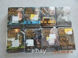 Lotr Lord Of The Rings Trading Card Game Lot Of 8 Two Towers Shadows Mount Doom