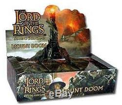 Lotr Tcg Decipher Mount Doom Sealed Booster Box