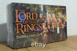 Lotr lord of the rings fellowship trading card game decipher 2001