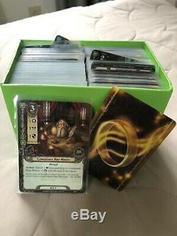 MEGA Lot of Lord of the Rings Trading Card Game Cards, Tokens, Maps, etc! HUGE