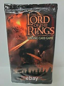 MINES OF MORIA Booster Pack The Lord of the Rings Trading Card Game New Sealed