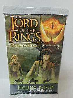 MOUNT DOOM Booster Pack The Lord of the Rings Trading Card Game New Sealed