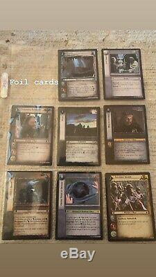 Massive Lord Of The Rings LOTR TCG LOT 500 cards! Trading Cards