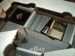 Massive Lot Of 7000 Lord Of The Rings Middle Earth Trading Cards