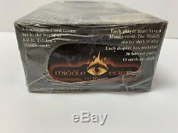 Middle Earth CCG The Wizards LIMITED Edition Booster Box factory sealed MECCG
