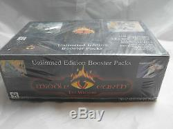 Middle Earth Ccg, Blue Border Premiere Sealed Booster Box Of 36 Packs