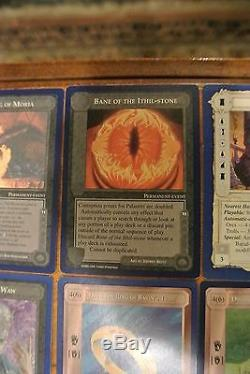Middle Earth MECCG UNLIMITED Complete Rare Set 114 Cards, LOTR TOLKIEN ICE NICE