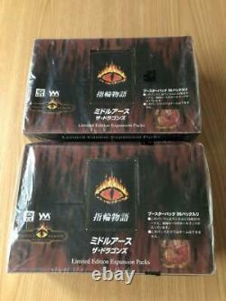 Middle Earth Ring of the Rings The Dragons Booster Pack 2 sets Lord of the Rings