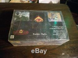 Middle Earth The Wizards Limited Edition Booster Box factory sealed box/ foil pk
