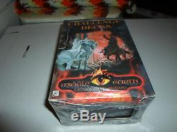 Middle Earth box of all 10 Challenge Decks MECCG Lord of the Rings LOTR