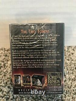 NIP Lord of the Rings Trading Card Game LOTR TCG The Two Towers Starter Deck