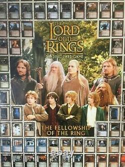 RARE POS The Lord of The Rings FOTR Trading Card Game Store Promo Poster