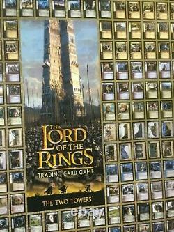 RARE POS The Lord of The Rings Two Towers Trading Card Game Store Promo Poster