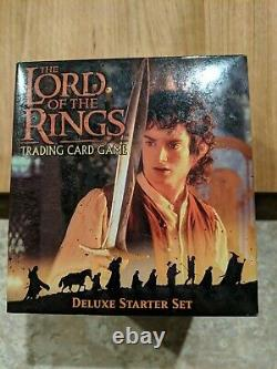 SEALED CARDS Lord of the Rings Trading Card Game Deluxe Starter Set (2001)