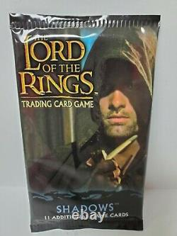 SHADOWS Booster Pack The Lord of the Rings Trading Card Game New Sealed