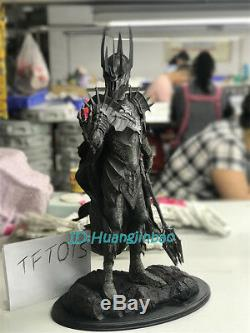 Sauron Figure The Lord of the Rings Painted Resin Sculpture 1/6 Scale In Stock