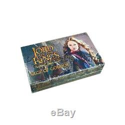 THE LORD OF THE RINGS TCG SIEGE OF GONDOR Box 36 Boosters LOTR NEW SEALED