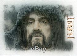 The Hobbit An Unexpected Journey Sketch Card By Bob Stevlic