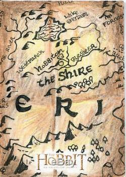 The Hobbit An Unexpected Journey Sketch Card By Clay Sayre