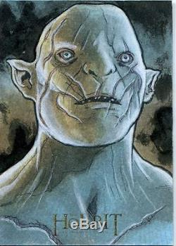The Hobbit An Unexpected Journey Sketch Card By Mikey Babinski