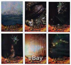 The Hobbit Desolation of Smaug Card Master Set Base Chase + 27 Autos + Sketch