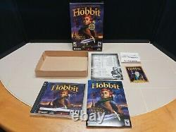 The Hobbit (PC, 2003) Lord Of The Rings Sierra PC GAME Complete WithTrading Card