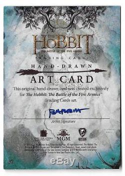 The Hobbit The Battle of the Five Armies 1/1 Fine Art Sketch by Kyle Babbitt