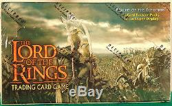 The Lord Of The Rings Realms Of The Elf-Lords Booster Box-Factory Sealed
