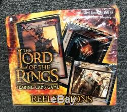 The Lord Of The Rings TCG Reflections Booster Box New Sealed In Plastic
