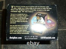 The Lord Of The Rings The Two Towers TRADING CARD GAME TCG Deluxe Starter Set