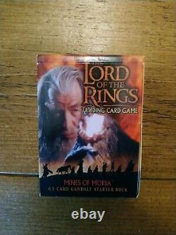 The Lord Of The Rings Trading Card Game Mines of Moria Gandalf Starter Deck
