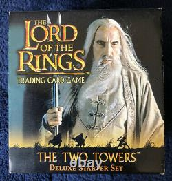 The Lord Of The Rings Trading Card Game Two Towers Deluxe Starter Set