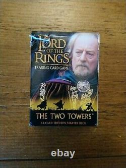 The Lord Of The Rings Trading Card Game Two Towers Theoden Starter Deck Tolkien