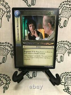 The Lord of The Rings Trading Card Game Extraordinary Resilience Holo #1 C 28