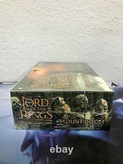 The Lord of The Rings Trading Card Game MOUNT DOOM Booster Box NEWith SEALED