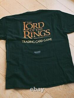 The Lord of The Rings Vintage 2001 Trading Card Game T-Shirt