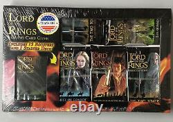 The Lord of the Rings Trading Card Game 13 Packs plus Starter Deck NEW SEALED