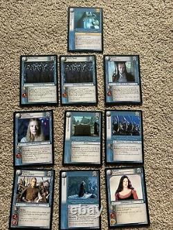 The Lord of the Rings Trading Card Game Booster Pack Lot Of 96 Cards