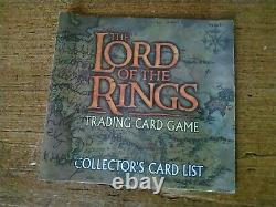 The Lord of the Rings Trading Card Game Deluxe Starter Set Fellowship Incomplete