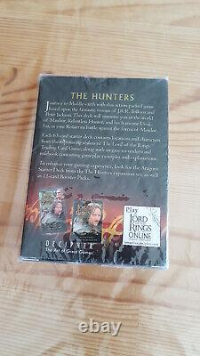 The Lord of the Rings Trading Card Game The Hunters TCG Mauhur Starter Deck new