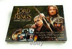 The Lord of the Rings Trading Card Game with CD-ROM / NOS SEALED 045748108939