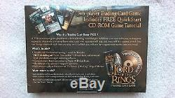 The Lord of the Rings Trading Card Game with CD-ROM RARE BRAND NEW SEALED
