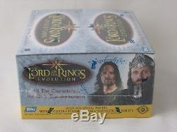 Topps Lord Of The Rings Evolution Hobby Trading Card Box Factory Sealed Lotr