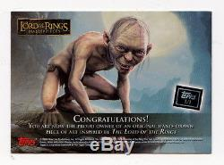 Topps Lord Of The Rings Masterpieces Sketch Card By LEN BELLINGER