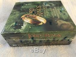Topps Lord of the Rings Fellowship of the Ring Movie Trading Cards SEALED Box