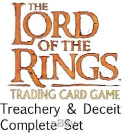 Treachery & Deceit Complete Set (Lord of the Rings) New Lord of the Rings