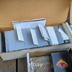 Unpicked Lord Of The Rings LOTR trading card game lot w Foil Prismatic